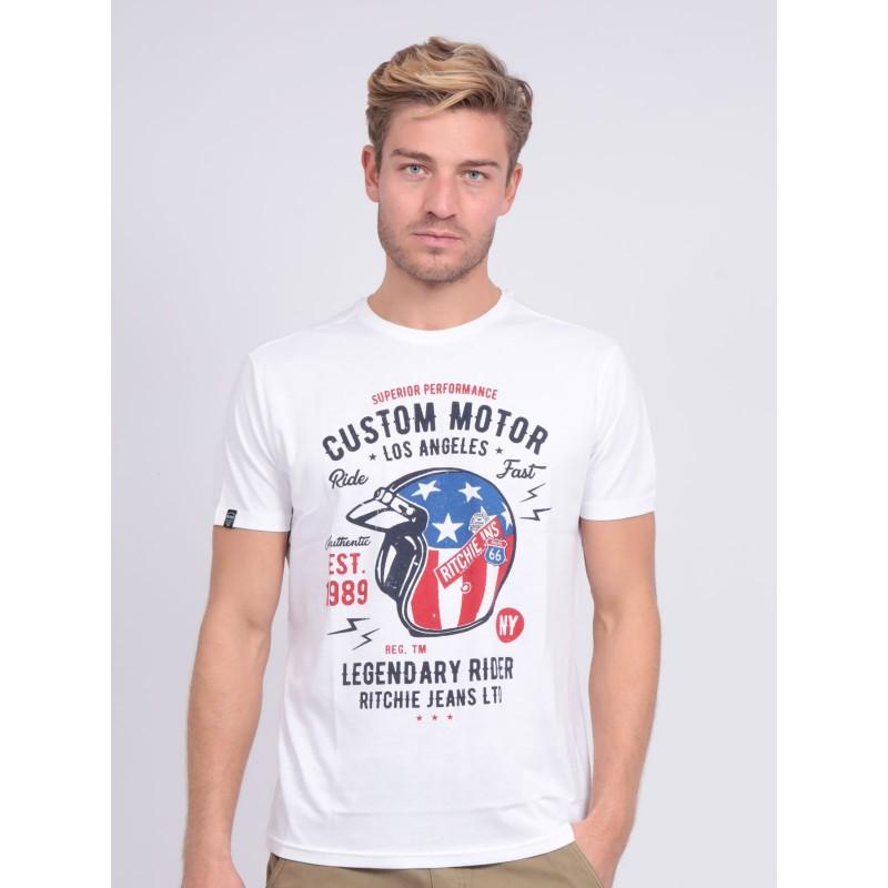 T-shirt col rond pur coton NAPILOTE