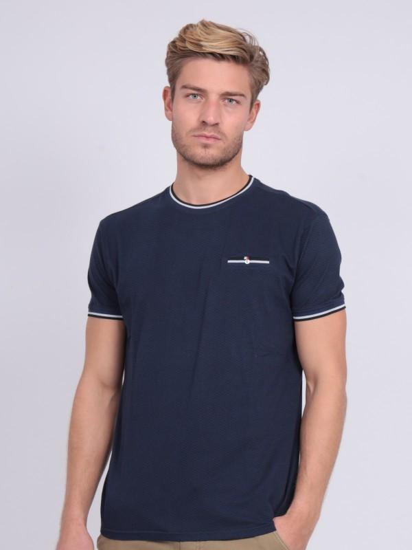 T-shirt col rond pur coton motifs NERFO