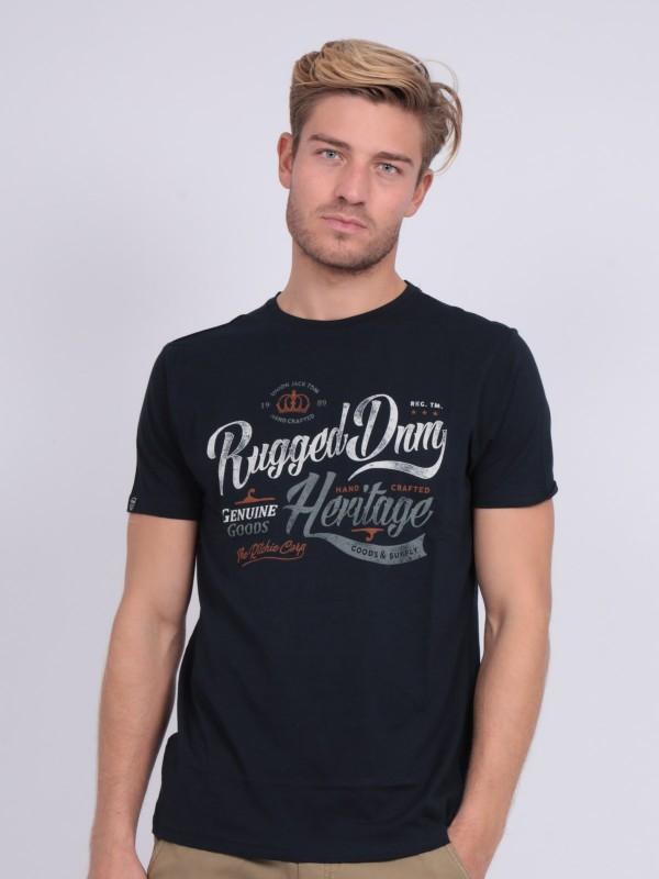 T-shirt col rond pur coton NILOMAN