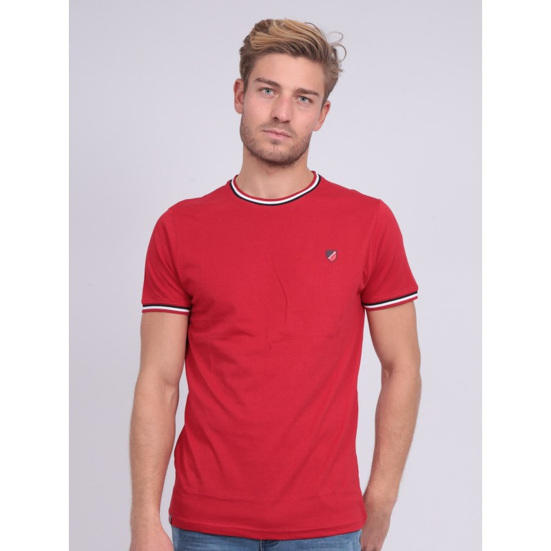 T-shirt col rond pur coton NOBIWONE