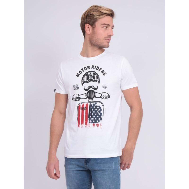 T-shirt col rond pur coton NOFOUK