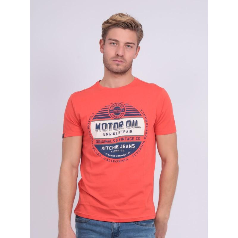 T-shirt col rond NUCLA