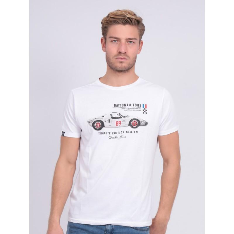 T-shirt col rond pur coton NUKITA