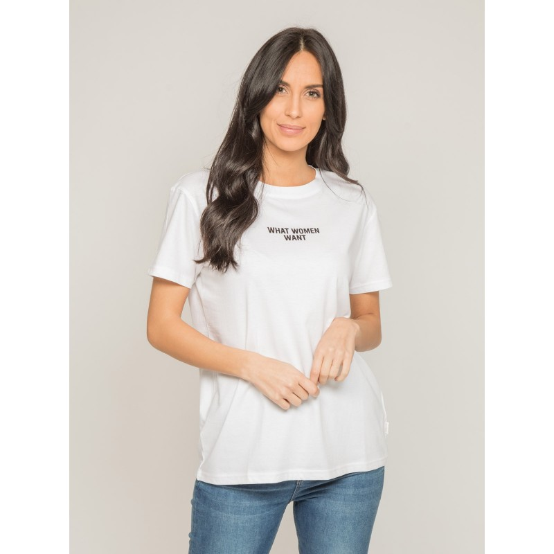 T-shirt col rond message FOMEREY