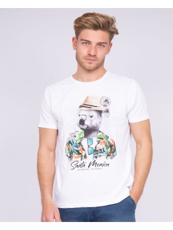 T-shirt col rond pur coton NANGO