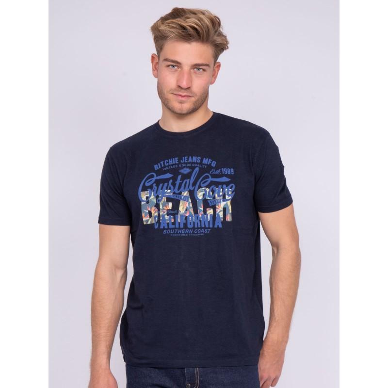 T-shirt col rond pur coton NANITOU