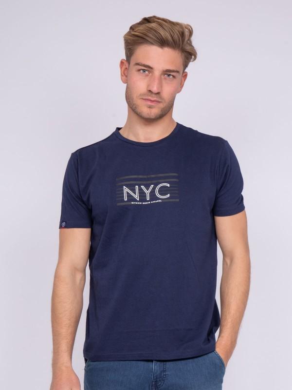 T-shirt col rond pur coton NARLO