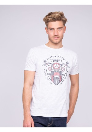 T-shirt col rond pur coton NERLIN