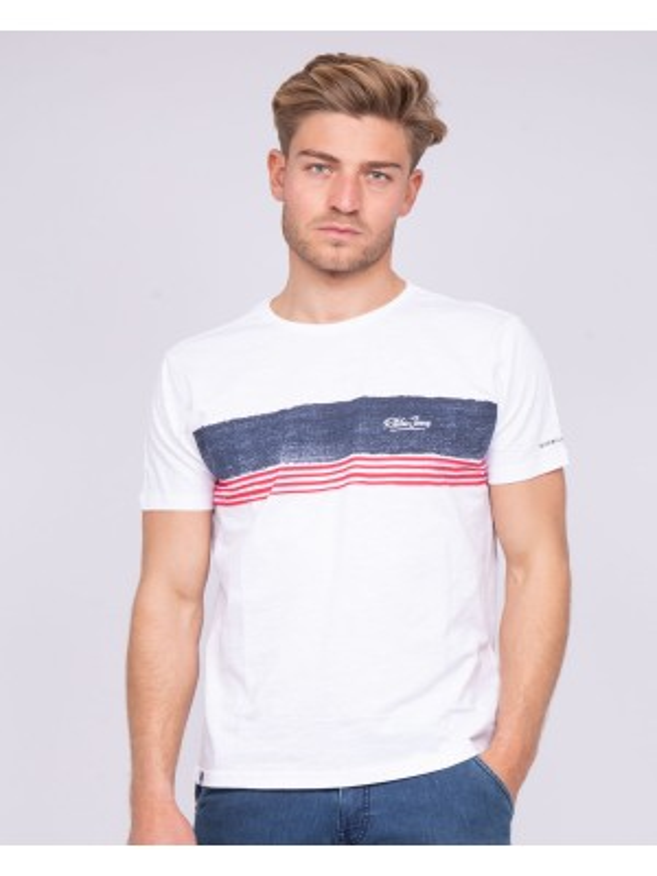 T-shirt col rond pur coton NIDEEP