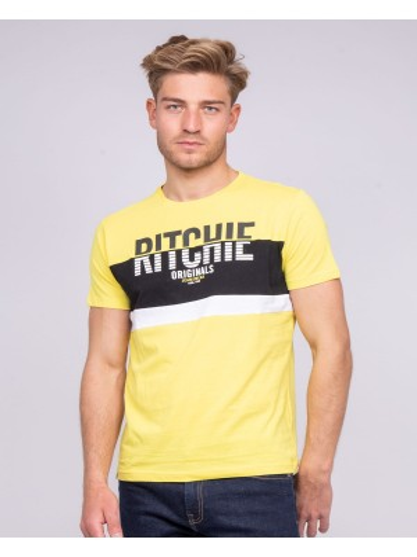T-shirt col rond pur coton NIMALO