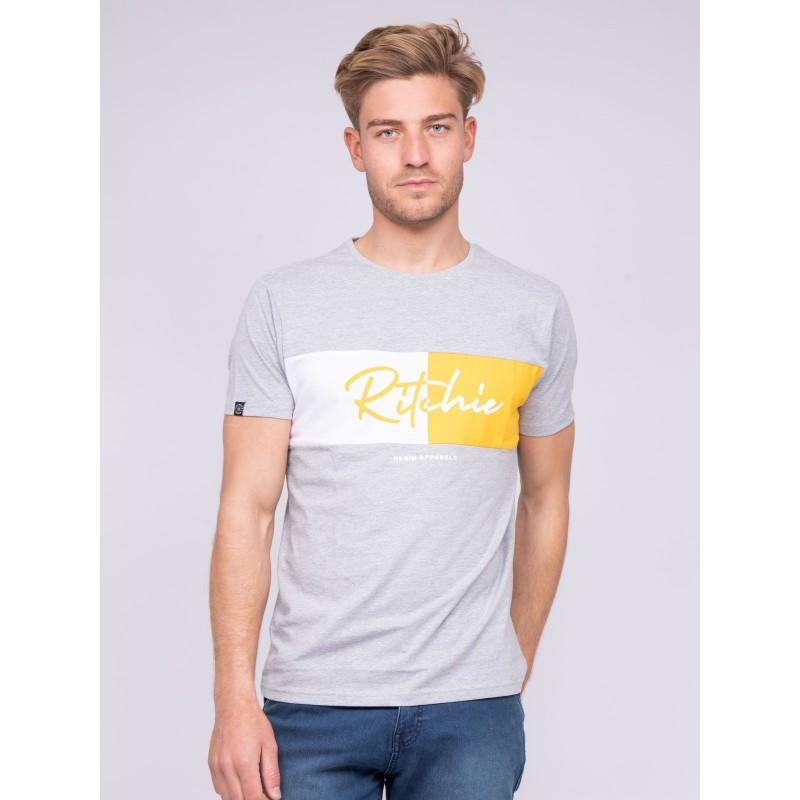 T-shirt col rond pur coton NOWARE