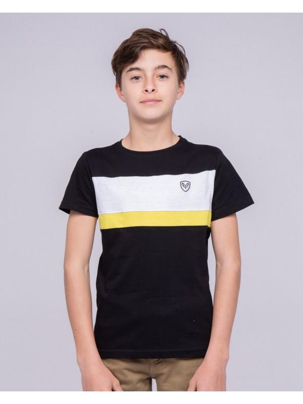 T-shirt col rond pur coton NAMLET-J