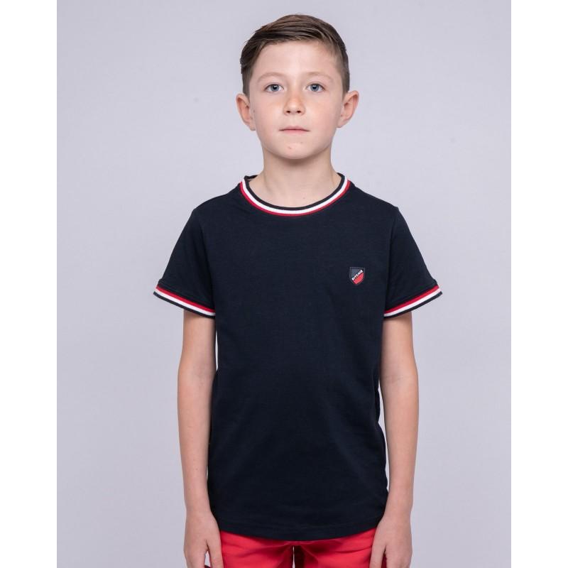 T-shirt col rond pur coton NOBIWONE-J