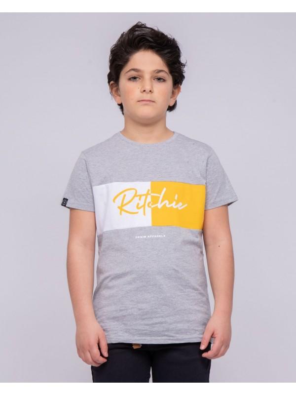 T-shirt col rond pur coton NOWARE-J