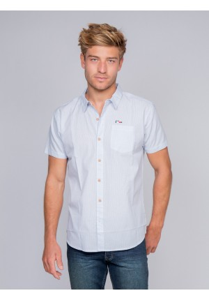 Chemise manches courtes rayures DIGOR