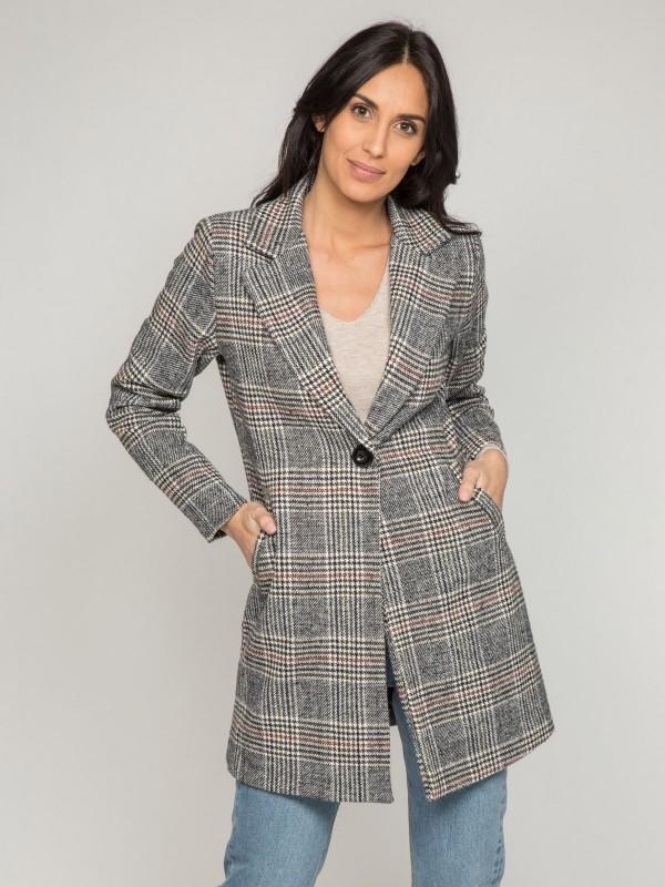 Manteau à carreaux USKI