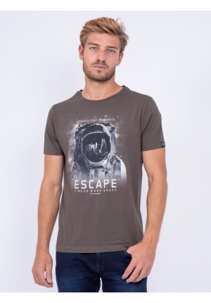 T shirt col rond pur coton JOOSTER