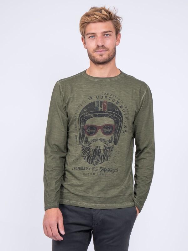 T shirt col rond pur coton JUMAPAL
