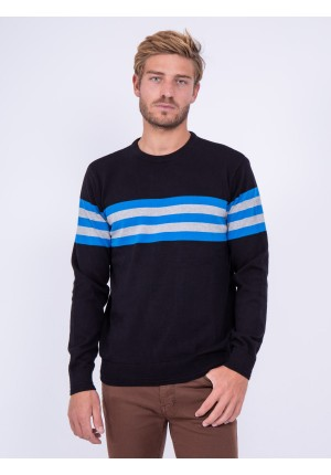 Pull col rond pur coton LIMOGE